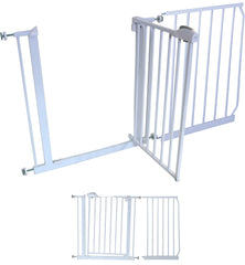 30 cm EXTENSION For iSafe DeLuxe Stair Gate 90° STOP OPEN - Baby Travel UK  - 12