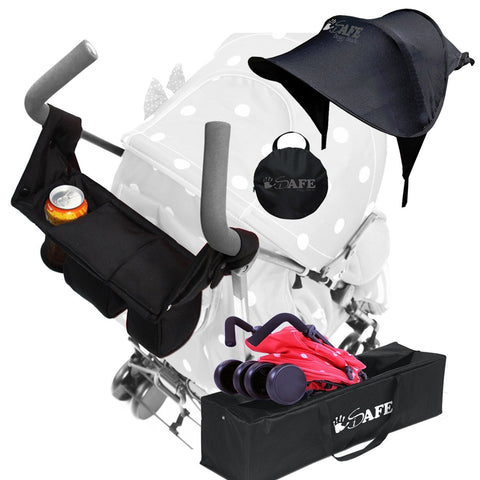 iSafe Stroller Accessories Bundle Pack