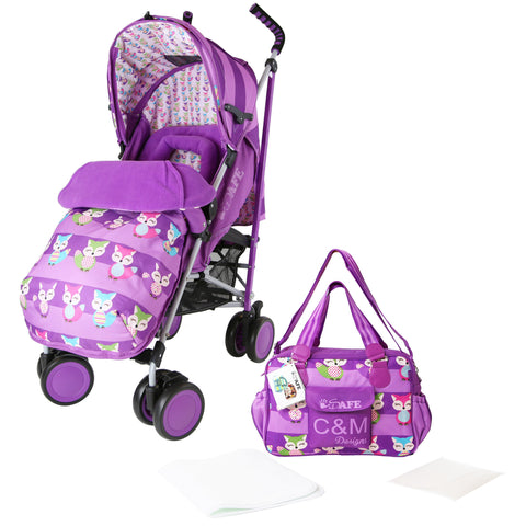 iSafe Stroller (Foxy Design) + BAG