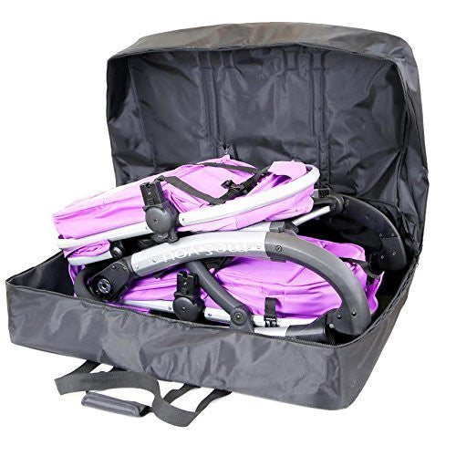 iSafe Double Travel Bag Luggage Heavy Duty Design To Fit Nipper Double 360 BuggyTravel - Baby Travel UK  - 4