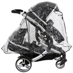 iSafe Tandem Raincover to Fit - Egg Tandem Stroller - Baby Travel UK  - 2