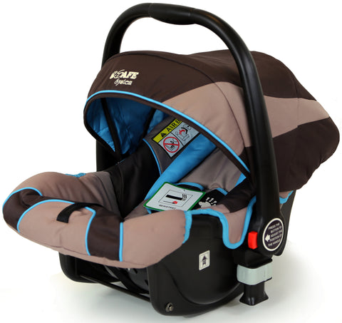 iSafe Infant Carseat Group 0+ - I DID IT For iSafe Pram System