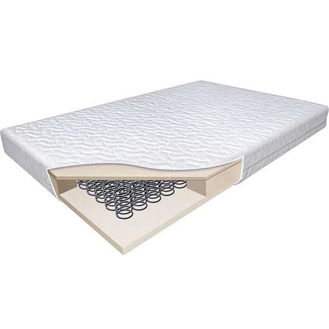 Baby Travel Ultraflow Cotbed Spring Mattress Junior Bed 140 x 70 x 12.5