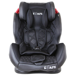 iSafe Isofix Duo Trio Plus Isofix  Top Tether Car Seat Carseat Raven Black - Baby Travel UK  - 5