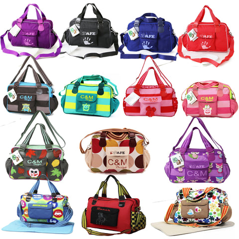 iSafe Luxury Changing Bags For Boys & Girls - Many Designs