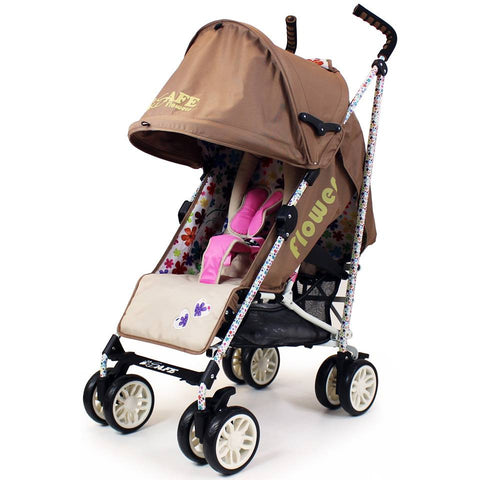iSafe  - Flowers Stroller Buggy Pushchair