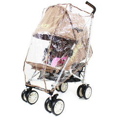 iSafe buggy Stroller Pushchair - Flowers (Complete With Bumper Bar & Rain cover) - Baby Travel UK  - 10
