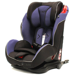 iSafe Isofix Duo Trio Plus Isofix  Top Tether Car Seat Carseat Indigo - Baby Travel UK  - 4