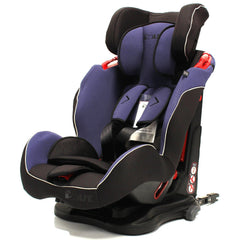 iSafe Isofix Duo Trio Plus Isofix  Top Tether Car Seat Carseat Indigo - Baby Travel UK  - 6