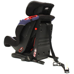 iSafe Isofix Duo Trio Plus Isofix  Top Tether Car Seat Carseat Indigo - Baby Travel UK  - 7