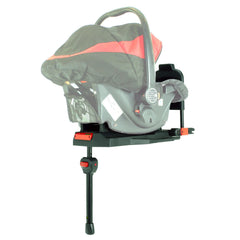 i-Safe System - Bow Dots Trio Travel System Pram & Luxury Stroller 3 in 1 Complete With Car Seat, Base, Bag, Bedding,Console Rain Covers & Foot Muffs - Baby Travel UK  - 28