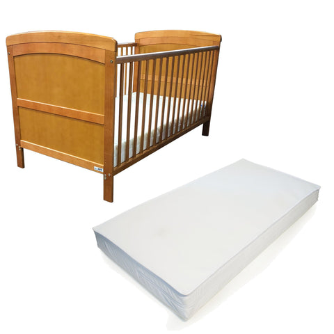 iSafe Cot Bed Toddler Bed - Nils (With Teething Rails) & Free Foam Mattress