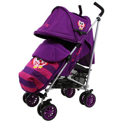 iSafe Owl & Button Stroller Complete With footmuff, Changing Bag, Raincover & Bumper Bar - Baby Travel UK  - 8