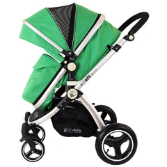 iSafe 2 in 1  Pram System - Leaf Complete With Raincover And Bedding - Baby Travel UK  - 6