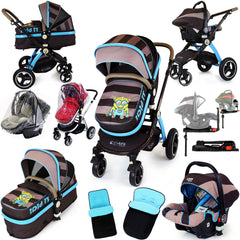 iSafe Luxury 3 in 1 Baby Pram Travel System iDiD iT (Limited Edition Design) - Baby Travel UK  - 1