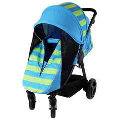 Sail Stroller - Ocean Lime Includes Bumper Bar Rain cover Bootcover & Bag - Baby Travel UK  - 2