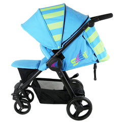 Sail Stroller - Ocean Lime Includes Bumper Bar Rain cover Bootcover & Bag - Baby Travel UK  - 7