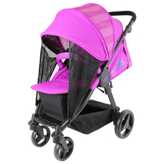 iSafe Sail Baby Stroller - Plum Purple Stripe - Baby Travel UK  - 2