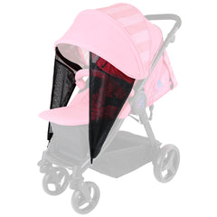 iSafe Sail Baby Stroller - Plum Purple Stripe - Baby Travel UK  - 8