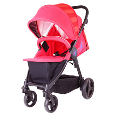 iSafe Sail Baby Stroller - Red - Baby Travel UK  - 3