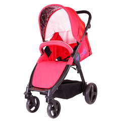 iSafe Sail Baby Stroller - Red - Baby Travel UK  - 4