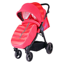 iSafe Sail Baby Stroller - Red - Baby Travel UK  - 1