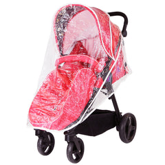 iSafe Sail Baby Stroller - Red - Baby Travel UK  - 6