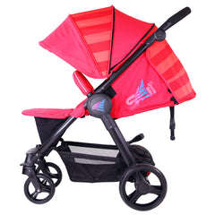 iSafe Sail Baby Stroller - Red - Baby Travel UK  - 7