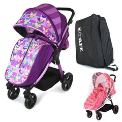 Sail Stroller - Foxy Includes Travel  Bag, Boot Cover, Travel Bag, Rain Cover, Bumper Bar - Baby Travel UK  - 1