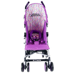iSafe Stroller - Foxy Design Complete With Footmuff Headhugger, Raincover, Bag - Baby Travel UK  - 12