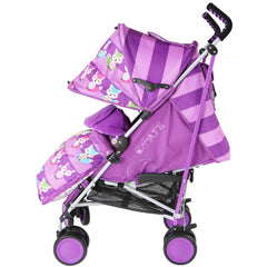 iSafe Stroller - Foxy Design Complete With Footmuff Headhugger, Raincover, Bag - Baby Travel UK  - 3