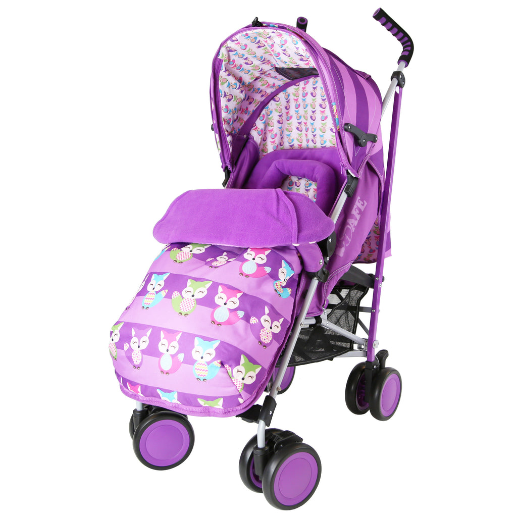 iSafe Stroller - Foxy Design Complete With Footmuff Headhugger, Raincover - Baby Travel UK  - 1