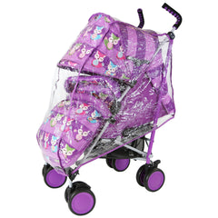 iSafe Stroller - Foxy Design Complete With Footmuff Headhugger, Raincover, Bag - Baby Travel UK  - 11