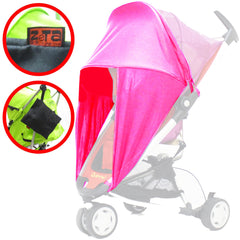 iSafe™ Sunny Sail Fits Silver Cross Freeway Pop Sleepover 3d Pram System - Baby Travel UK  - 4