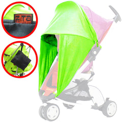 Sunny Sail Universal Red Kite Zebu Buggy Pram Stroller Shade Parasol Substitute - Baby Travel UK  - 7