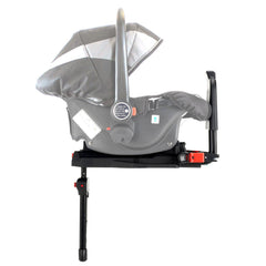 iSafe Tandem Pram me&you - 2 Tone Black (Black) Complete With Carseat And iSofix Base - Baby Travel UK  - 7