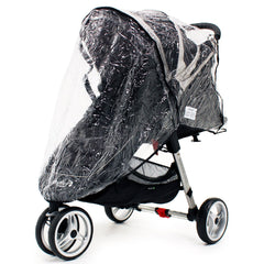 Universal Raincover Baby Jogger City Mini Lite GT 4 Pushchair Top Quality - Baby Travel UK  - 2