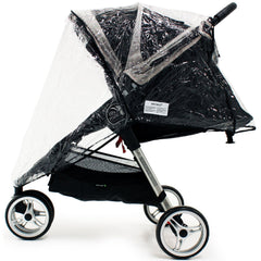 Universal Raincover Baby Jogger City Mini Lite GT 4 Pushchair Top Quality - Baby Travel UK  - 3