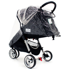 Universal Raincover Baby Jogger City Mini Lite GT 4 Pushchair Top Quality - Baby Travel UK  - 4