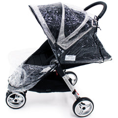 Universal Raincover Baby Jogger City Mini Lite GT 4 Pushchair Top Quality - Baby Travel UK  - 5