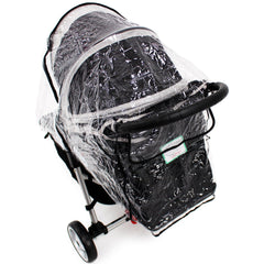 Universal Raincover Baby Jogger City Mini Lite GT 4 Pushchair Top Quality - Baby Travel UK  - 6