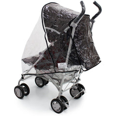 Rain Cover For Kiddicouture Citi Stroller Buggy - Baby Travel UK  - 1