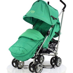 Zeta Vooom With Large Deluxe Footmuff - Leaf - Baby Travel UK  - 1
