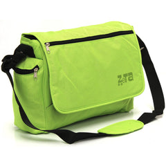 Baby Travel Zeta Changing Bag Plain LIME Complete With Changing Matt - Baby Travel UK  - 4
