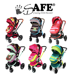iSAFE 2 in 1 Pram  - Limited Edition Designs!