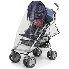 Raincover Throw Over For Chicco Winter London Stroller Buggy Rain Cover - Baby Travel UK  - 6