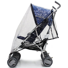 Raincover Throw Over For Chicco Winter London Stroller Buggy Rain Cover - Baby Travel UK  - 2