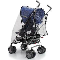 Raincover Throw Over For Chicco Winter London Stroller Buggy Rain Cover - Baby Travel UK  - 4