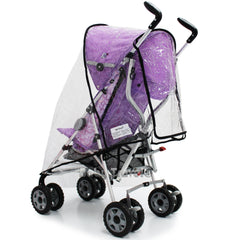 Raincover Throw Over For Chicco Winter London Stroller Buggy Rain Cover - Baby Travel UK  - 5