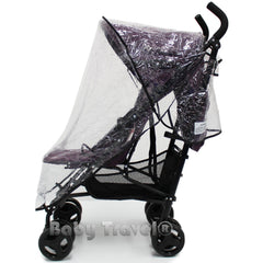 Rain Cover To Fit Hauck Roma Stroller Professional Heavy Duty Rain Cover - Baby Travel UK  - 2